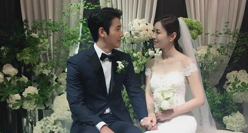 Lee Sang-Woo ve Kim So-Yeon Bugün Evlendi