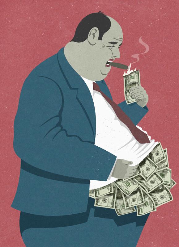 Çizer John Holcroft'ın Modern Toplumu Eleştiren 10 İllüstrasyonu 5. resim