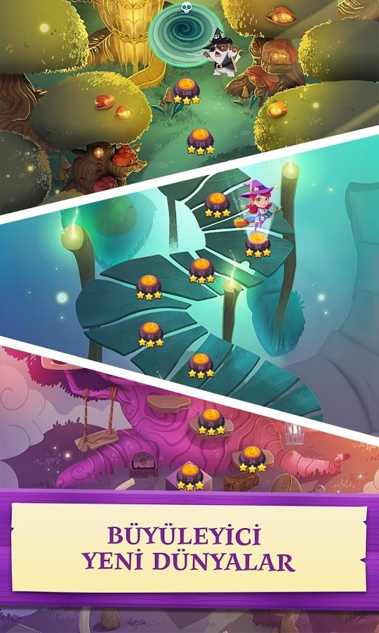 Bubble Witch 3 Saga APK Mega Mod