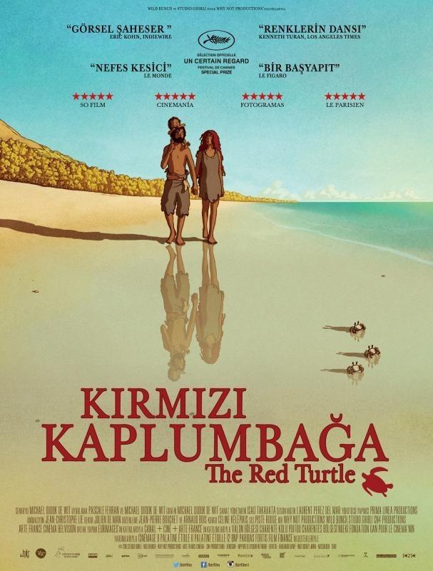 Kırmızı Kaplumbağa 2016 BRRip XViD Türkçe Dublaj - Film indir  Tek Link Film indir
