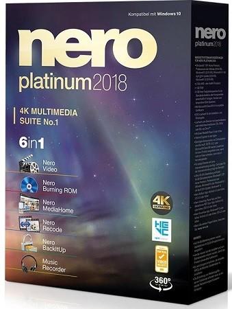 Nero Platinum 2018 Suite 19.0.10200 Multilingual | Full Program