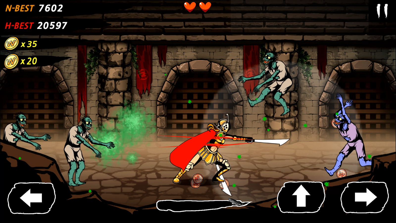 World Of Blade : Zombie Slasher Apk
