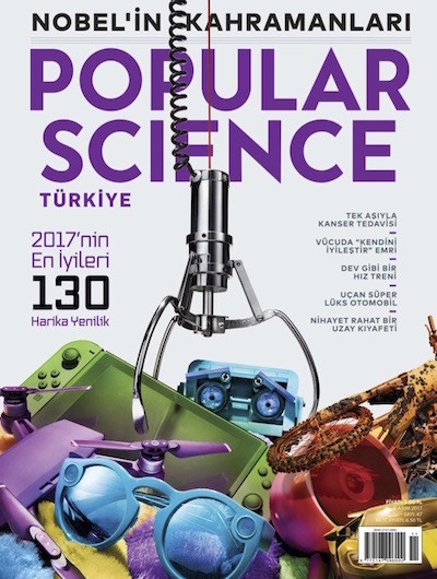 Popular Science Kasım 2017