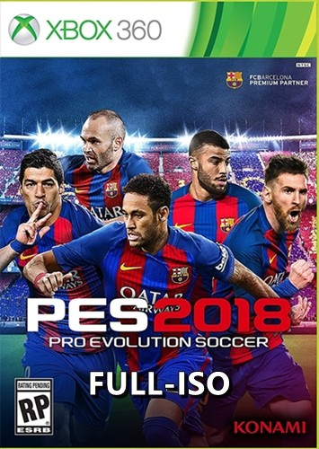 Pes 2018 Xbox 360 Türkçe Oyun İndir [MEGA-MEDIAFIRE-DIREKT LINK] [FULL-ISO] [PAL]