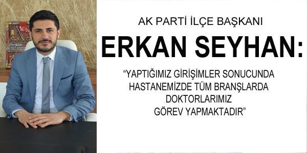 AK Parti İlçe Başkanından açıklama