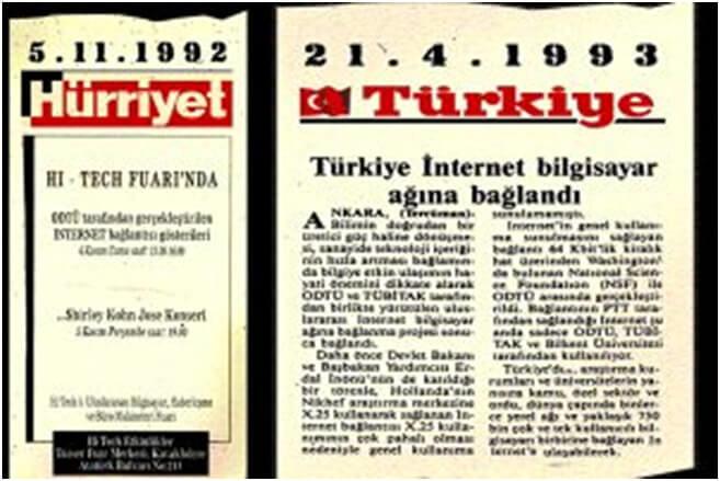 ODTÜ Türkiye'nin İlk İnternet Bağlantısı