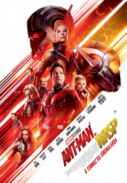 Ant-Man and The Wasp Türkçe Dublaj izle – Tek Parça