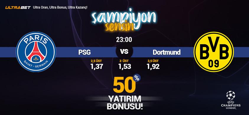 PSG - B. Dortmund Canlı Maç İzle