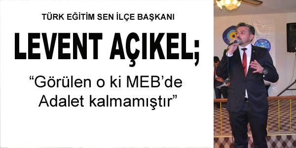 Türk Eğitim Sen'in açıklaması