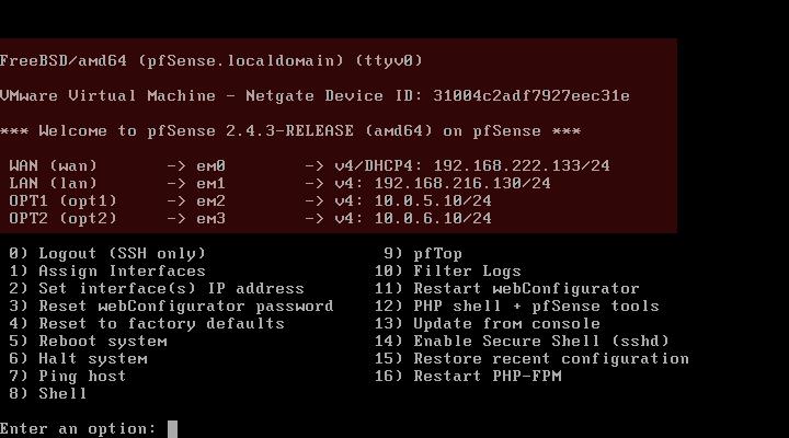 pfSense Firewall Installation – A  Faruk