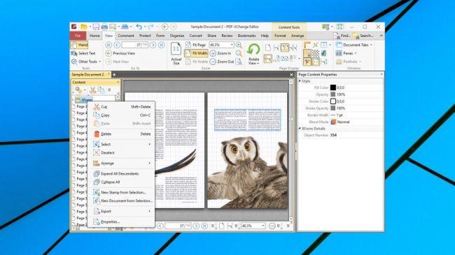 PDF-XChange Editör