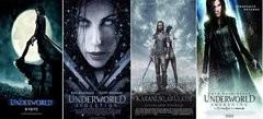 Karanlıklar Ülkesi - Underworld 1-2-3-4 BoxSet Türkçe Dublaj MP4