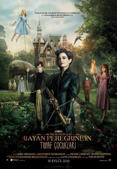 Bayan Peregrine'in Tuhaf Çocukları (2016) hd türkçe dublaj film indir