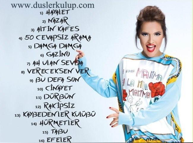 Demet Akalın – Rakipsiz 2017 Müzik Albümünü Full İndir