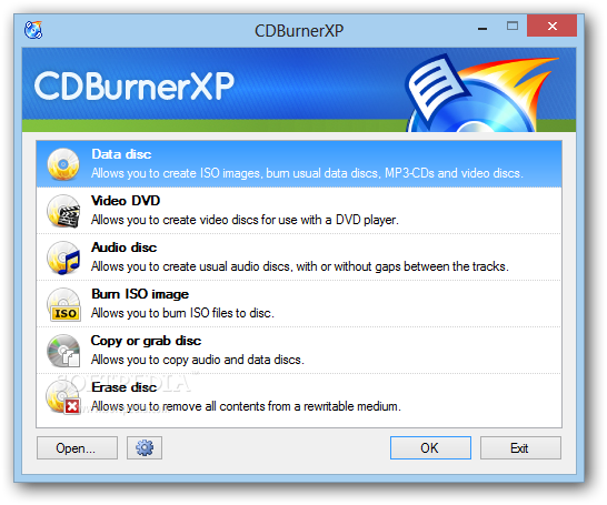 CDBurnerXP 4.5.7.6520 Beta