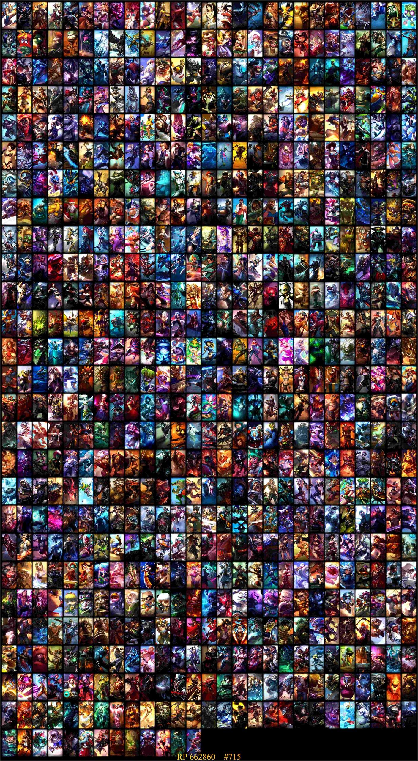 745 Skin 60 Totem 200 Simge Full Şampiyon