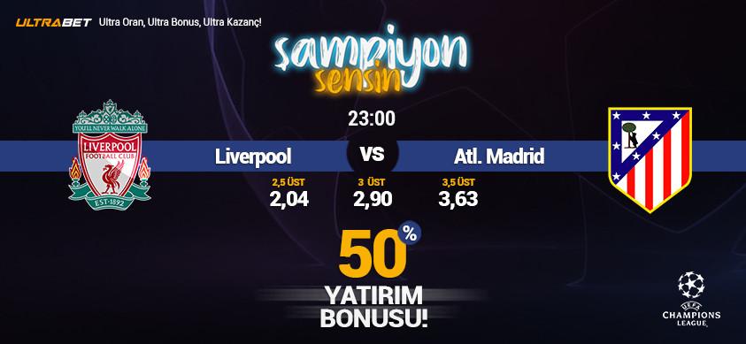 Liverpool - Atl. Madrid Canlı Maç İzle