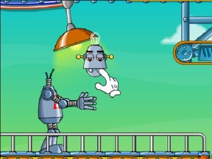Koşan Robot Oyunu