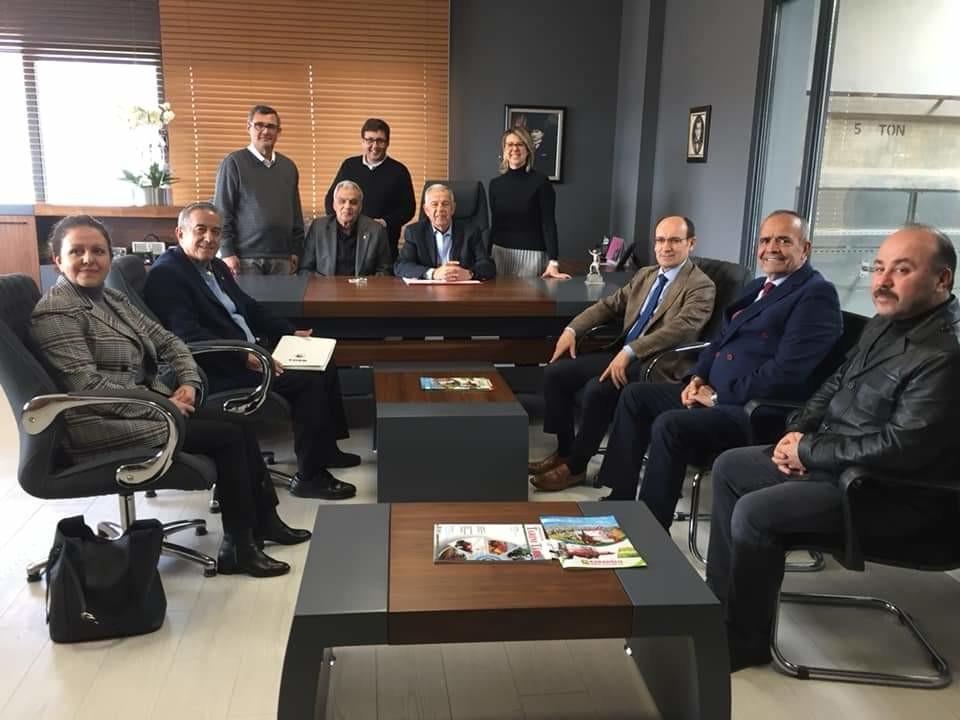 Katılımcılarımızdan Karaoğlu Ziraat Aletleri işletmesine OSB Yönetim Kurulu olarak ziyaret ettik.