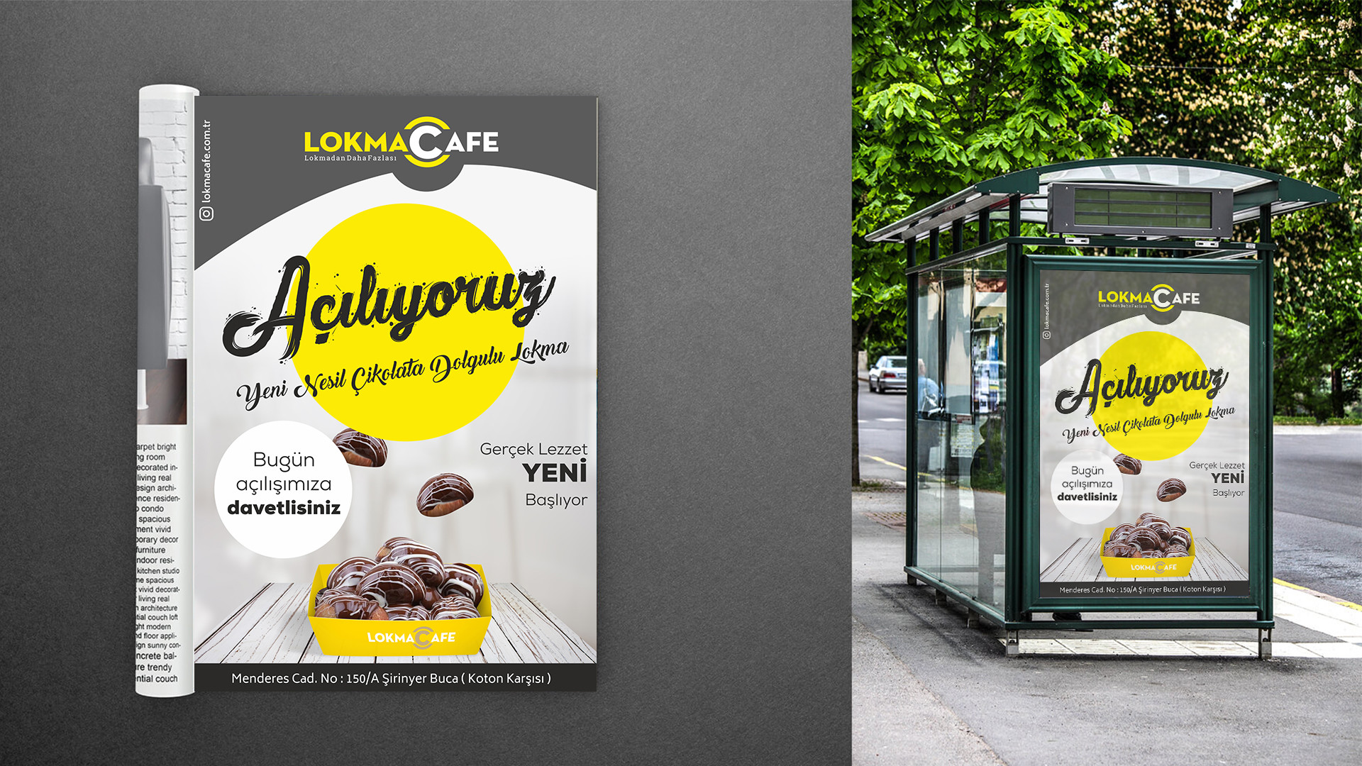 dergi ve broşür reklamı