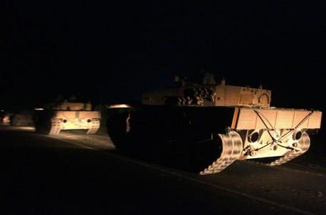 Türk ordusu Suriyaya girdi
