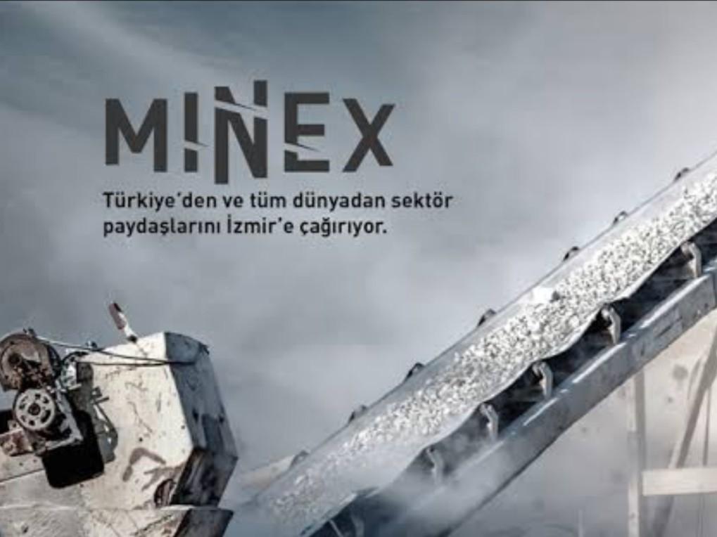 """MINEX """"8.Madencilik, Doğal Kaynaklar ve Teknolojileri Fuarı"""""""