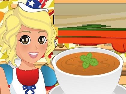 Domates Çorbası Yap Oyunu