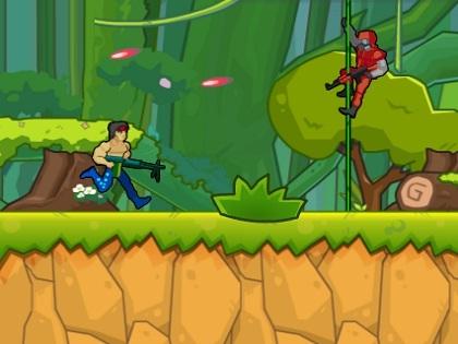 Silahlı Rambo Oyunu