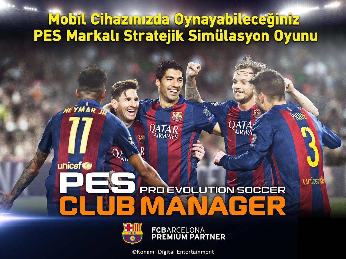 PES CLUB MANAGER Android apk