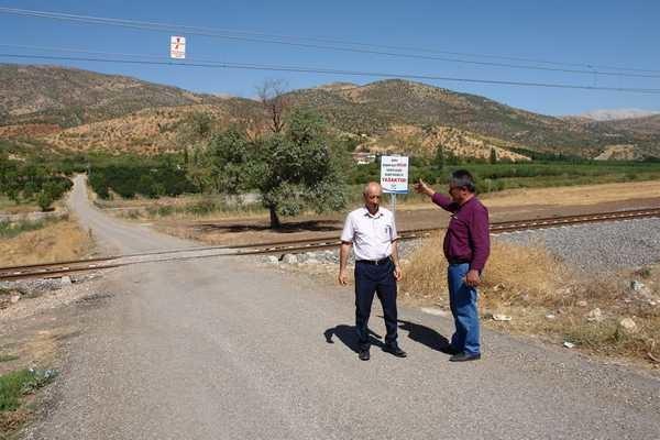 Tecirli Yolu Trafiğe Kapatıldı