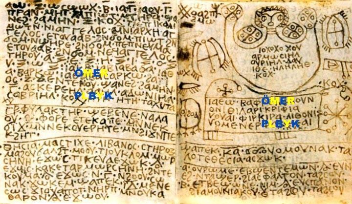 Şeytani Ruhlar büyüleri 1300 yıllık